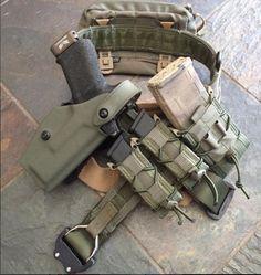 Tactical Belt, Kydex Holster, Tactical Gloves, War Belt, Battle Belt, Tactical Equipment, Military Equipment, Tac Gear, Chest Rig
