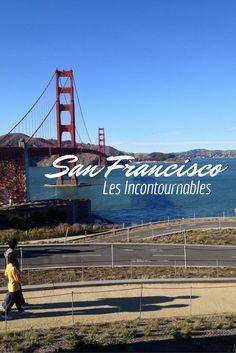 Tous les incontournables à visiter à San Francisco, du Golden Gate Bridge en passant par Pier 39 mais aussi des lieux moins connus comme la Coit Tower ou les Filbert Steps...