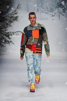 Sfilata Moschino Milano Moda Uomo Autunno Inverno 2015-16 - Vogue