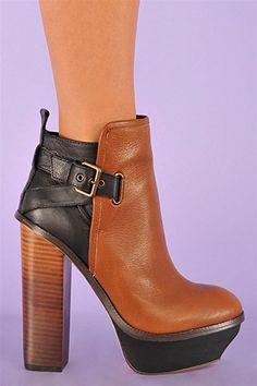 95a11936d4 Jordanna Dolce Vita Boots - Tan and black Shoe Shop