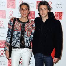 Family photo of the designer, married to Jérôme Dreyfuss,  famous for Isabel Marant.