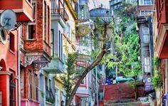Kuzguncuk'ta Bir Sokak - a street at Kuzguncuk Istanbul