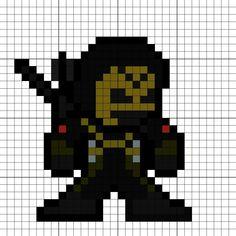 Prometheus-X Perler Bead Pattern