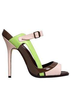 Manolo #Blahnik - #Shoes - 2012 Spring-Summer #manoloblahniksandals