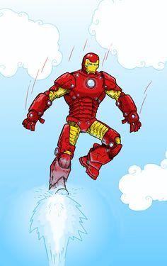Moje Amatorskie Mazy: Iron man