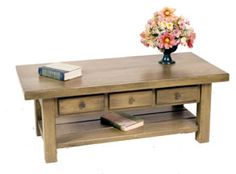 Woodworking Plans and Projects: Coffee Table Woodworking Plan