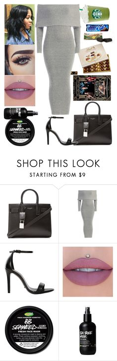"""""""Brazil✈London: July 5"""" by allison-syko ❤ liked on Polyvore featuring Lindt, Yves Saint Laurent and Schutz"""