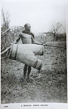 A Beehive, Kenya Colony 1920's