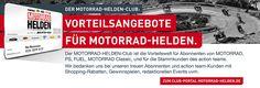 Sonderaktionen Motorrad-Gruppe - MOTORRAD-HELDEN-Clubübersichtsseite bequem aussuchen beim Motor Presse Shop