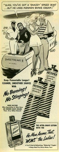 Mennen Shave Cream