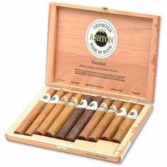 Ashton 10-Cigar Sampler Box   spiritedgifts.com