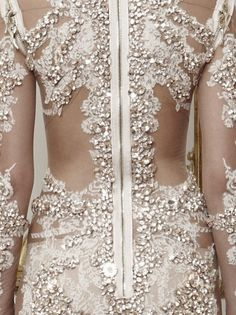 Givenchy Haute Couture Fall 2010 Details