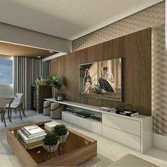 Detalhes sala de TV by Claudiny Cavalcanti @_decor4home @homeluxoimoveis