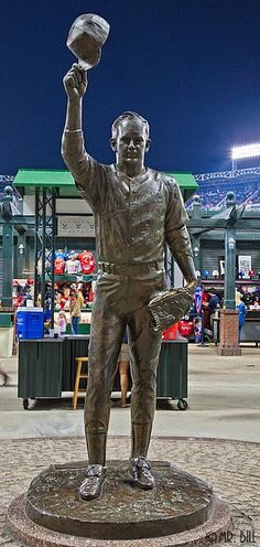 Nolan Ryan Statue--Ballpark at Arlington