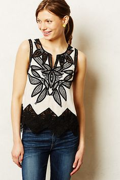 Anatole Tank. Anthropologie.Also in Petite. $88.