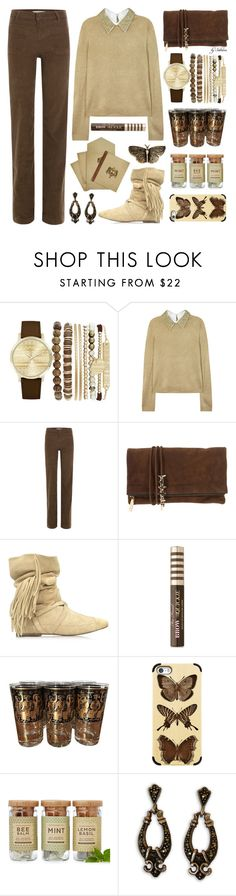 """Briard"" by xiandrina ❤ liked on Polyvore featuring Jessica Carlyle, Alice + Olivia, Vanessa Bruno, Dsquared2, Jérôme Dreyfuss, Too Faced Cosmetics, Georges Briard, Casetify, Modern Sprout and Yves Saint Laurent"