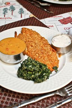Peanut Crusted Oven Fried Fish