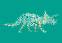 Mechanical Dinosaurs by Barney Ibbotson.