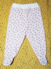 FREE: Baby leggins pattern and tutorial (Russian) in Euro size 74 (9-12 mos).