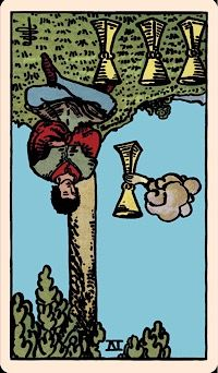 The Card of the Day: The Four of Cups (Reversed) — Elliot Oracle - Tarot Card Readings Rider Waite Tarot, Occult Symbols, Oracle Tarot, Tarot Learning, The Four, Card Reading, Tarot Decks, Tarot Cards, Zodiac