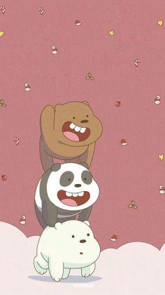 Get Nice Aesthetic Anime Wallpaper IPhone We Bare Bears Iphone Wallpapers - iPhone X Wallpapers Cute Disney Wallpaper, Kawaii Wallpaper, Cute Wallpaper Backgrounds, Wallpaper Iphone Cute, Emoji Wallpaper, Colorful Wallpaper, We Bare Bears Wallpapers, Panda Wallpapers, Cute Cartoon Wallpapers