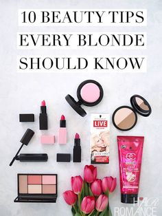10 beauty tips every blonde should know