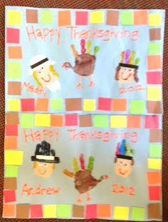 It's a Preschool Party: Placemats.  I like the squares around the edging.