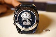 OMEGA Speedmaster Apollo 13 Silver Snoopy Award - reverse side