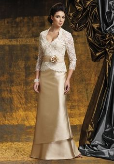 Mother of the Bride Dress, I like the lace on this one!