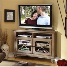 Coventry Corner TV Console I Riverside Furniture 50x19x34