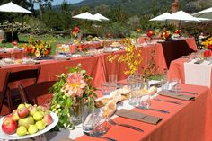 Tuscan Tablescape | Tuscany Tablescape