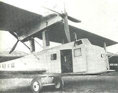 Farman F.180 L'oiseau bleu (1927) - transatlantic record plane