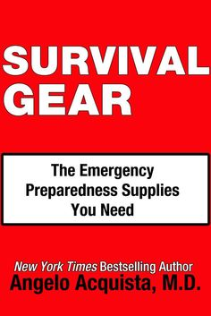 A panel of physicians, emergency specialists, and first responders developed this next-generation first-aid information guide and survival gear checklist for today's environment. It has been designed to Federal Emergency Management Agency's (FEMA) and the American Red Cross's published specifications and recommendations, and includes information and recommendations about over-the-counter medications, bandages, cleansing supplies, facial protection, latex gloves, and emergency aids and tools.