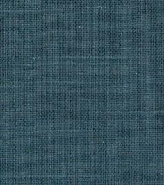 Upholstery Fabric-Robert Allen Linen Slub-Turquoise, , hi-res
