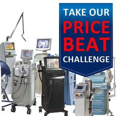 Rock Bottom Lasers Price Challenge Rock Bottom Invites You to Shop and Compare Prices For Used Medical Lasers. If you dare to find lower price on a quality laser, Rock Bottom will attempt to meet or beat the price.  Sign Up and Shop Lasers Now @ https://goo.gl/Zgsrdw Tag PhotoAdd LocationEdit