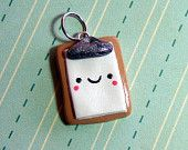 kawaii polymer clay charms on Etsy, a global handmade and vintage marketplace.
