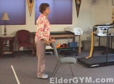 Exercises for the older person or those with arthritis or knee problems: stretching, flexibility, other good info. Includes videos as how tos