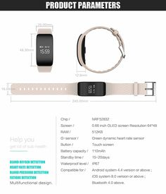 ONSTON Smart Watch Bracelet Waterproof Fitness Tracker with Heart Rate Monitor Blood Pressure Blood Oxygen Monitor Compatible with IOS Andriod Smartphones * Continue to the product at the image link. (This is an affiliate link) Best Fitness Tracker, Heart Rate Monitor, Blood Pressure, Smart Watch, Bracelet Watch, Ios, Smartphone, Image Link, Smartwatch