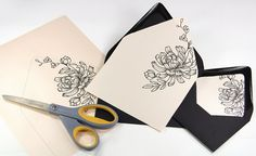 How To Make Layered X Invites Order Cards And Envelopes Blank