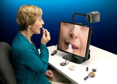 6 Really Helpful Makeup & Grooming Aids For Those With Low Vision  ... see more at InventorSpot.com