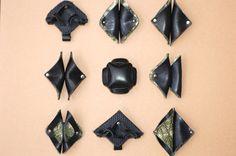 革で作ったブローチです。|ハンドメイド、手作り、手仕事品の通販・販売・購入ならCreema。