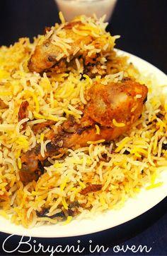 chicken dum biryani in oven - Yummy Indian Kitchen  #chickendumbiryani #chickenbiryaniinoven #biryaniinoven #chickeninoven #chickenrecipesinoven