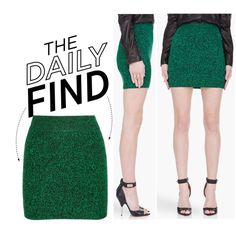 """""""The Daily Find: T by Alexander Wang Skirt"""" by polyvore-editorial on Polyvore"""