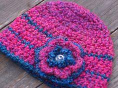 Kids crochet hat pattern  Bulky Yarn Beanie  Crochet by lizzziee, $3.99