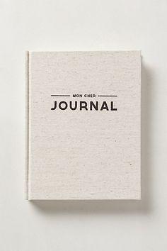 Mon Cher Journal - anthropologie.com