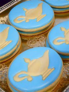 Aladdin lamp cookies
