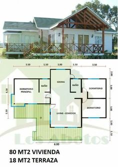 Dream House Plans, Small House Plans, Guest Houses, Small Houses, House  Design, Website, Weekend House, Granny Flat, Smallest House