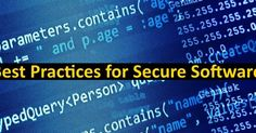 Asp.net software company in india: Ten Best Practices for Secure Software Development Part 1 #SoftwareCompanyInIndia #CustomSoftwareCompanyIndia #CustomSoftwareDevelopmentCompanyIndia #SoftwareConsultancyIndia