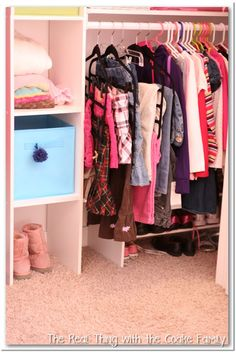 20+ Organizing Ideas And Storage Solutions. Kid ClosetCloset ...
