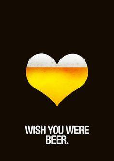 Wish You Were #Beer